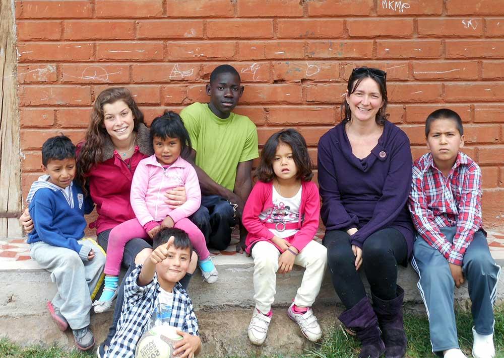 Les familles d'accueil en Équateur avec Claire, accompagnatrice des ados
