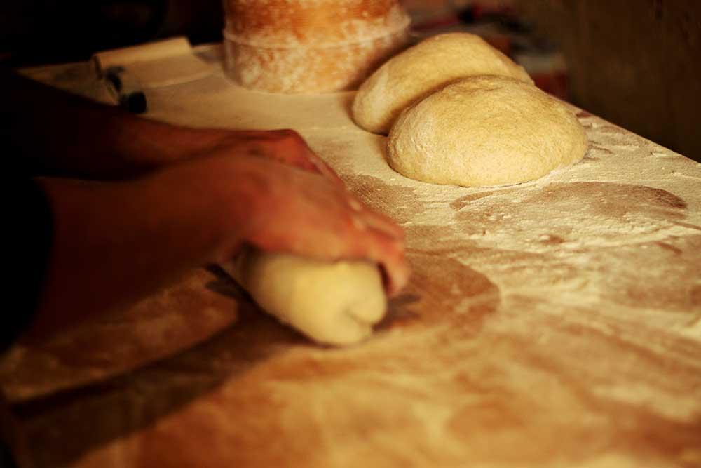 fournil préparation du pain