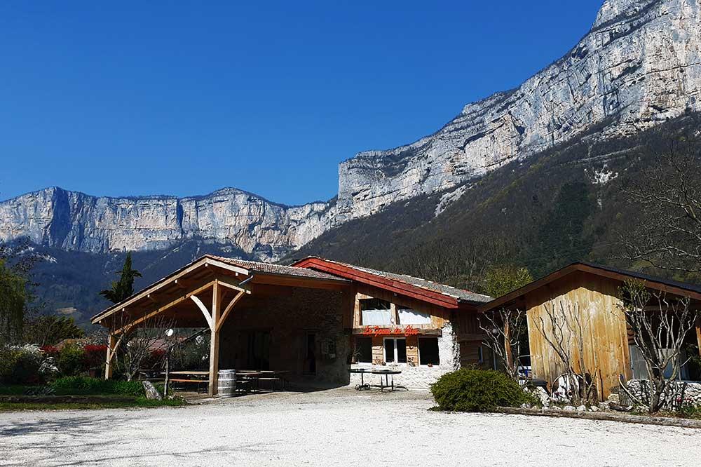 Batiment du séjour de reconnexion pour adolescents, Savoie